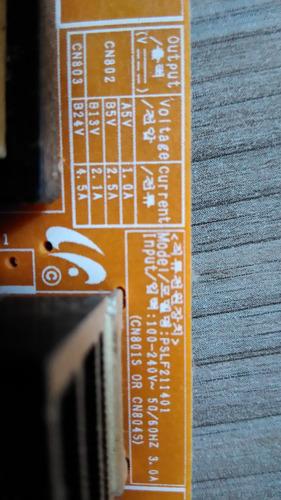 placa fonte tv samsung ln32c530f1mxzd