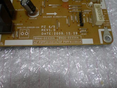 placa fonte tv samsung pl50c430a1mx  bn44-00330a