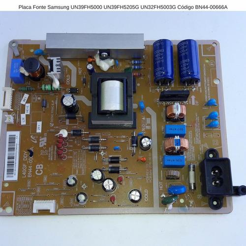 placa fonte un39fh5000 un39fh5205g un32fh5003g bn44-00666a