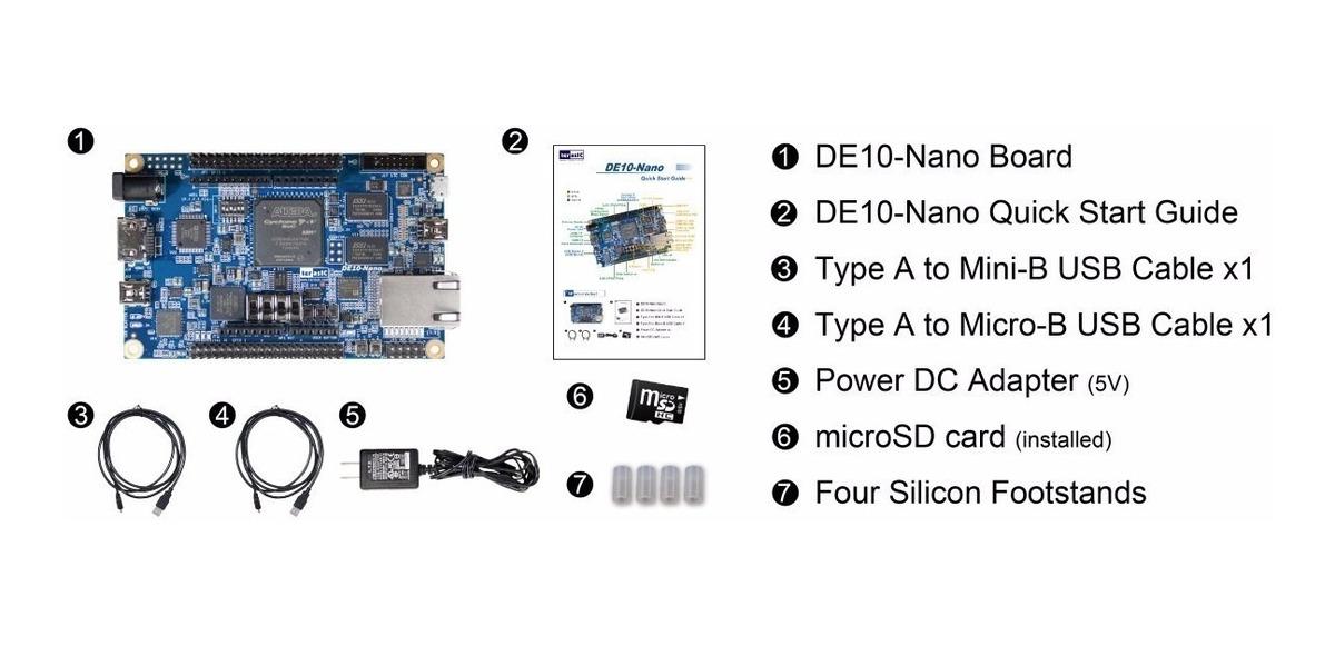Placa Fpga De10 Nano (p/n: P0496)