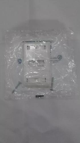 placa frontal ( rasante ) 1,2 y 4 pto systimax mod. m12l-262