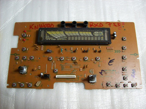 placa frontal sistem kenwood  rxd-753