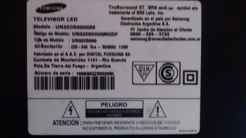 placa fuente samsung u32c5000 (testeada ok)