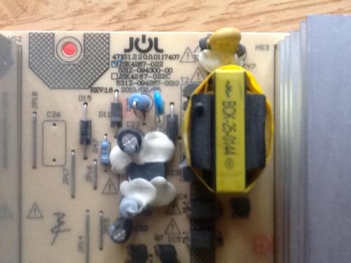 placa fuente tv hitachi cdh l42f02