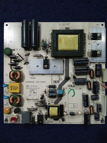 placa fuente tv panavox 32l21 código k-75l1