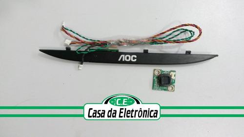 placa funções + sensor tv aoc le32h1461