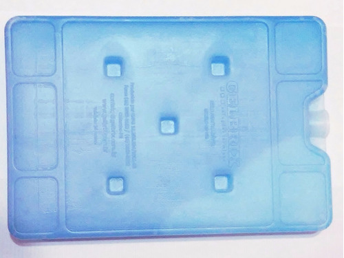 placa gelo reutilizável 750ml p/ carrinho de sorvete 15 unid