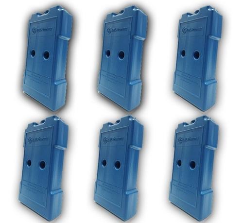 placa gelox artificial reutilizável 500ml promoção kit 6 un