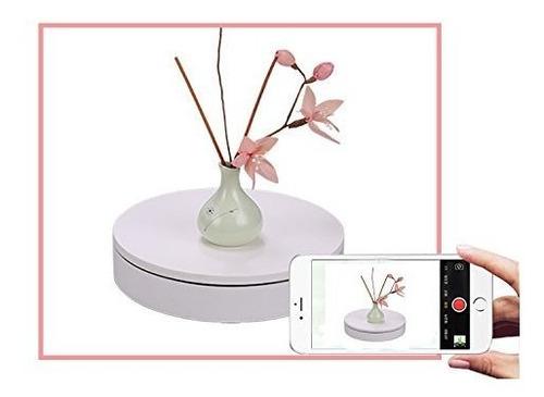 placa giratoria de 360 rrgrados para fotografia de producto,