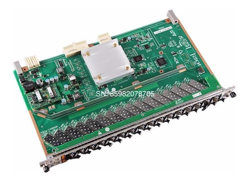 Placa Huawei Gpfd 16 Portas Gpon + Sfp C+ / Ma5680t Ma5608t