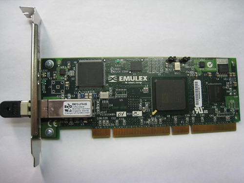 placa ibm emulex lp9002 1 porta fibra 2gb/s pci-x  00p4297