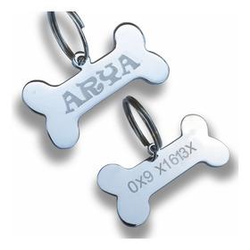 Placa Identificación Para Mascotas Ideal Para Perros