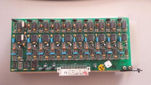 placa identificador de chamada corp16000