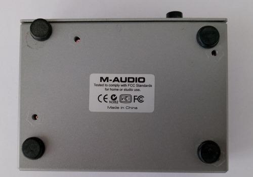 placa interface audio