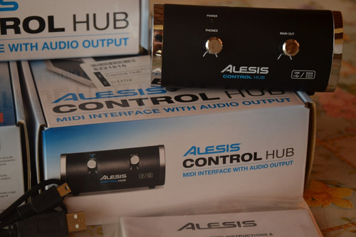 placa interface audio usb