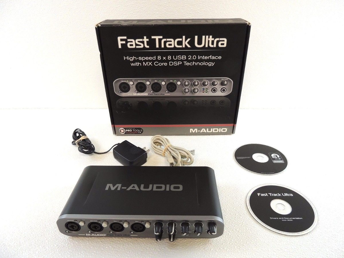 m-audio fast track usb 2 drivers