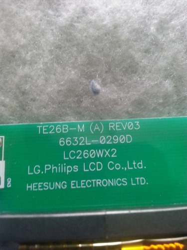 placa inverter 26pfl5321 philips 26pfl5321 78 6632l 0290d
