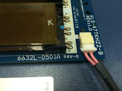 placa inverter  kls-47 tkh22-b  6632l-0501a  com garantia
