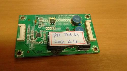 placa inverter (led drive) philco ph32m a4 - 40-rt3210-drf2x