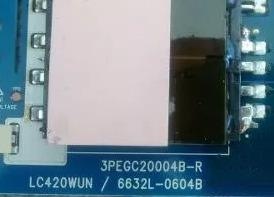 placa inverter lg - 3pegc20004b-r lc420wun 6632l-0604b