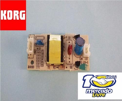 placa inverter luz do display p/ teclado korg pa50 original