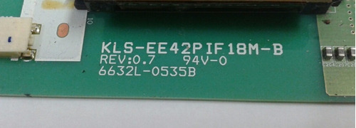 placa inverter panasonic tc-l42s10b /42g11b  cód:6632l-0535b