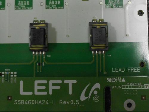 placa inverter sony lcd modelo:klv-46w300a left ssb460ha24-l