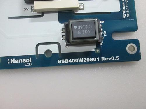 placa inverter ssb400w20s01 rev0.5 sony klv40v410a
