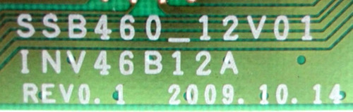 placa inverter ssb460_12v01 ln46c530 ln46c650