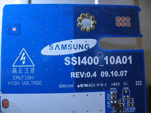 placa inverter ssi400_10a01 rev:0.4 tv sony kdl-40bx405