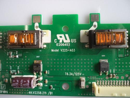 placa inverter tv aoc lc32d1320 cod: v225-a03