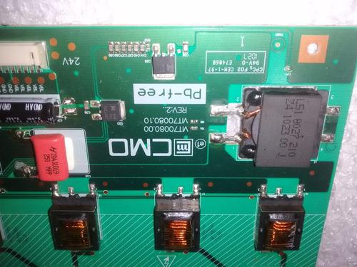 placa inverter tv cce d32