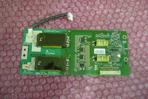 placa inverter tv lcd philips 32pfl3406d/78 6632-0624a