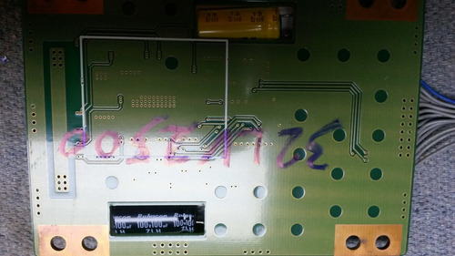 placa inverter tv lg lv2500