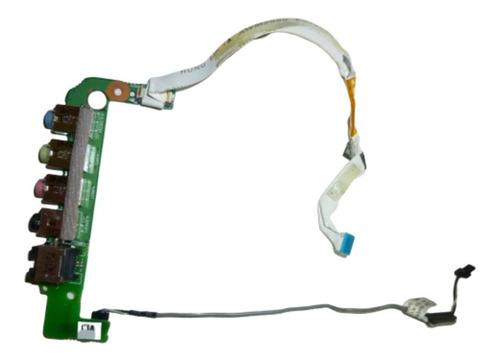 placa jack de sonido para notebook bangho m66sru m66 m660