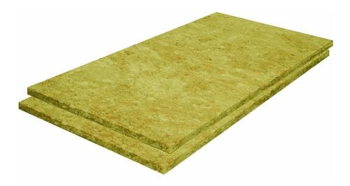 placa lana de roca mineral 25mm espesor x 100kg  promo