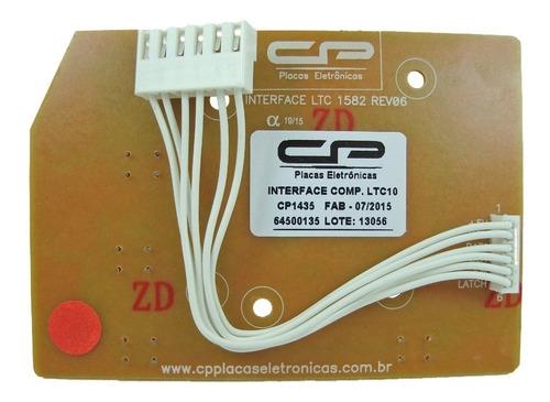 placa lavadora compatível cp ltd09 ltd11 bivolt 64500135