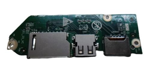 placa lector sd + red + sonido + usb notebook compaq 21