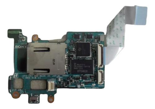 placa lectora de memoria netbook sony pcg-4a1l  pcg-tr3ap
