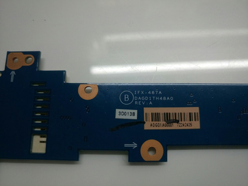 placa lectora sd notebook sony vaio pcg 5k1p vgn cr340f