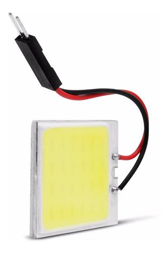 placa led cob 24 leds pingo t10 torpedo 5w 12v luz interna
