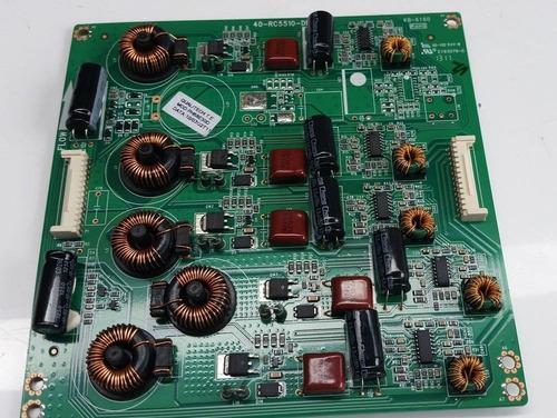 placa led driver tv philco ph58e30dsg - 40-rc5510-drc2lg