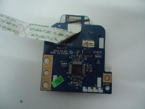 placa leitor de cartão do notebook acer aspire 5251 1069