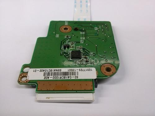 placa leitor de cartão memoria netbook asus eeepc 1005 ha