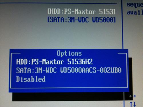 placa logica hd 15 gb 51536h2 jac61hu0 cod. 170b
