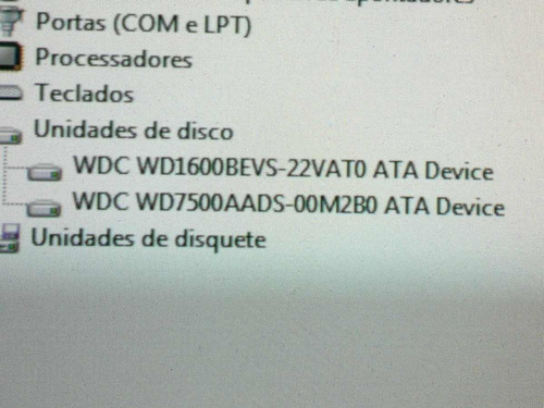 placa logica hd 160 gb wd1600bevs-22vato - cod. 194a