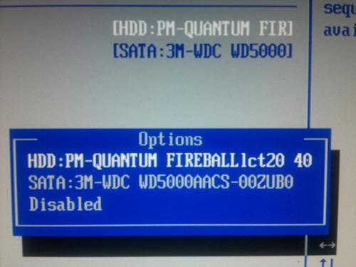 placa logica hd 40 gb fireball lct20 40 apl 0900 - cod. 888b