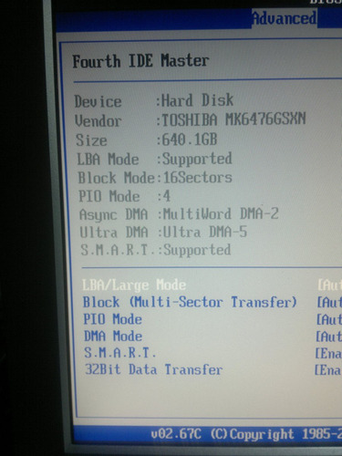 placa logica hd 640 gb mk6476gsxn - a0/gb001m cod. a68