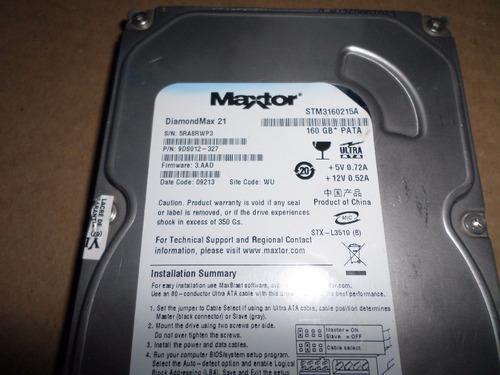placa logica hd maxtor diamondmax21- stm3160215a-160g pata