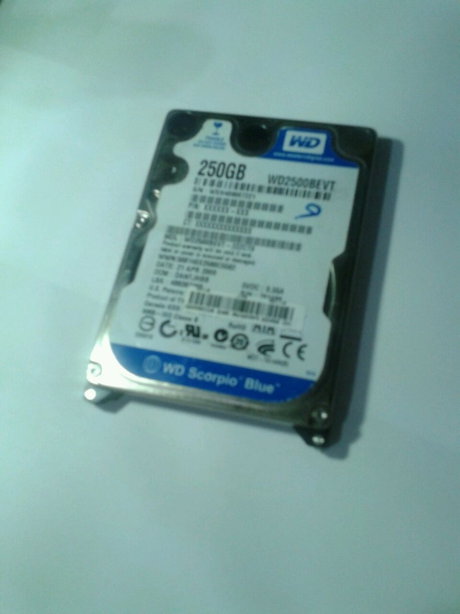 WESTERN DIGITAL WD2500BEVT WINDOWS 10 DOWNLOAD DRIVER